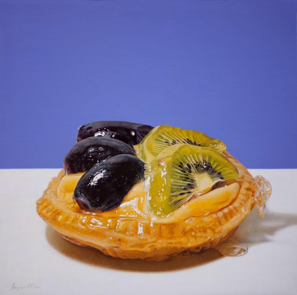 Francesco Stile Kicca Oil on canvas 60 x 60 cm