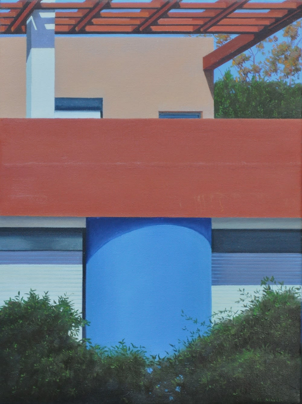 Carl Laubin Quinconce, 2014 Oil on canvas 41 x 30 cm