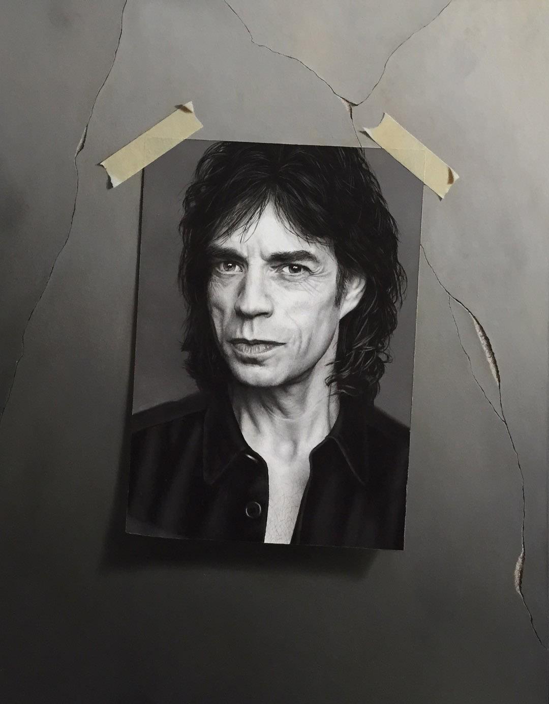 Otto Duecker Mick Oil on board 46 x 35 cm