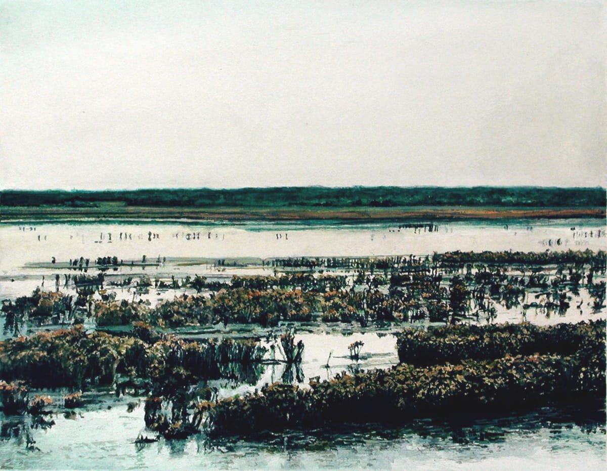 James Van Patten Cold Afternoon Watercolour paper 25.5 x 33