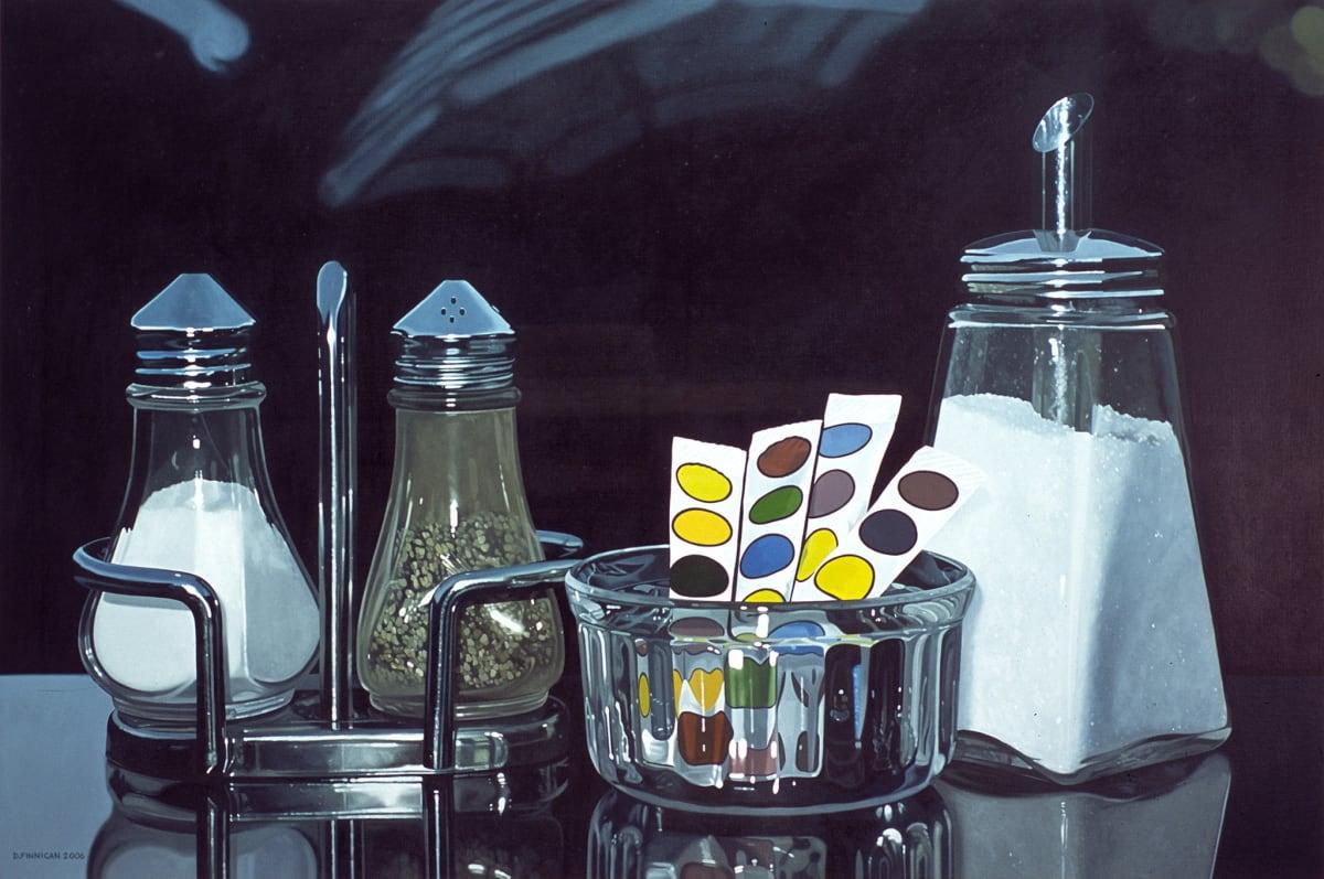 David Finnigan Far To Go oil on linen 91 x 137 cm