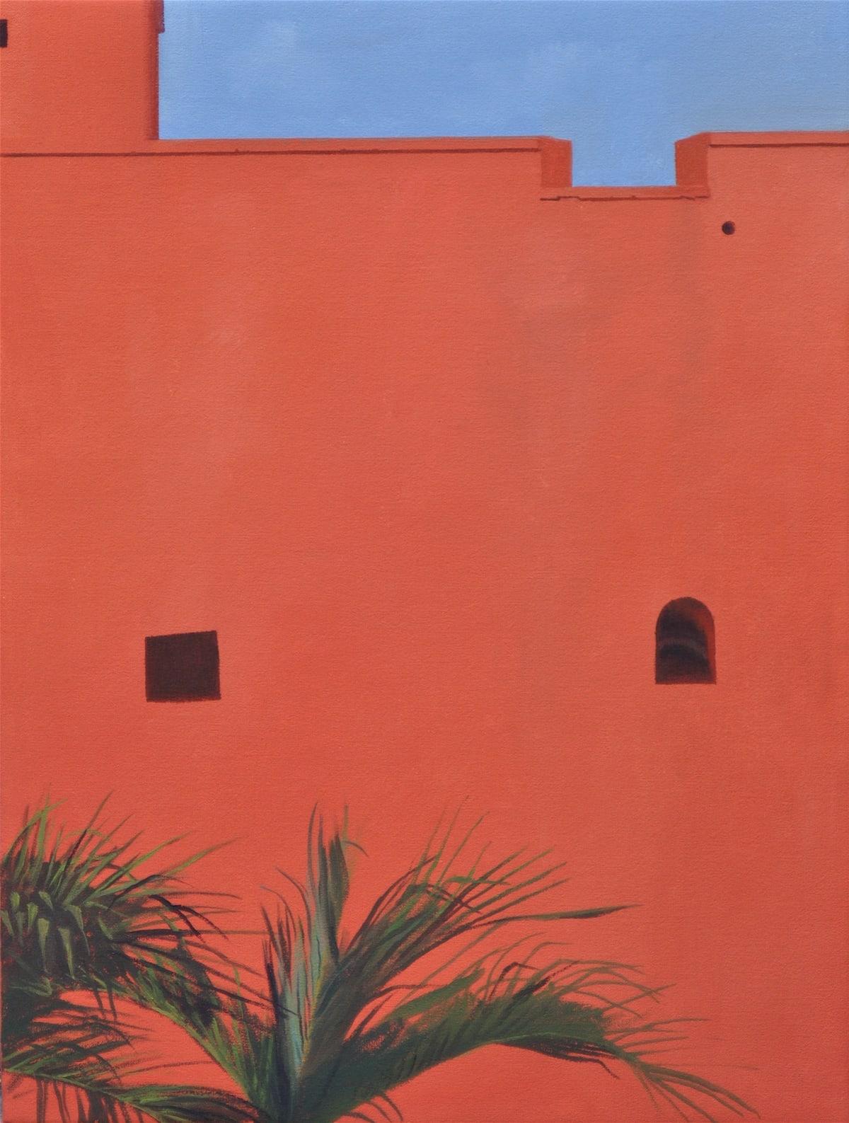 Carl Laubin Fort Christian 1, 2016 Oil on canvas 41 x 30 cm