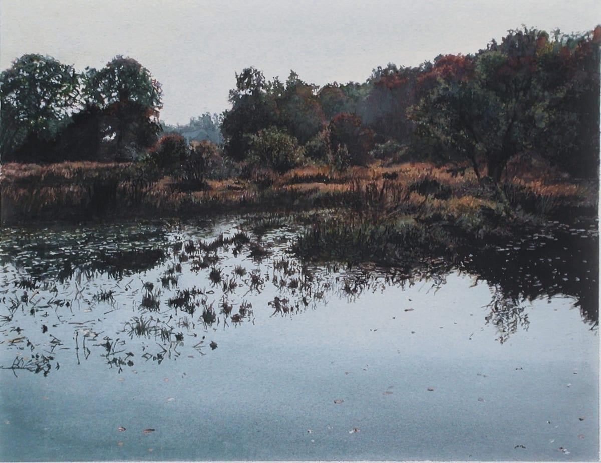 James Van Patten One Morning Watercolour paper 25.5 x 33