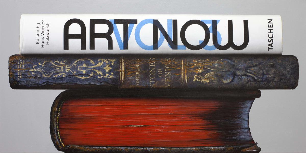 Paul Beliveau Vanitas 19.05.09, 2019 Acrylic on canvas 61 x 122 cm