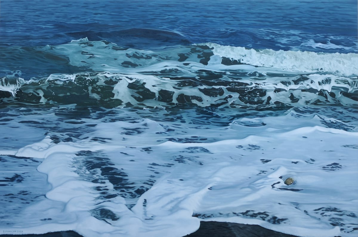 David Finnigan Transition II Oil on Linen 86.5 x 127 cm
