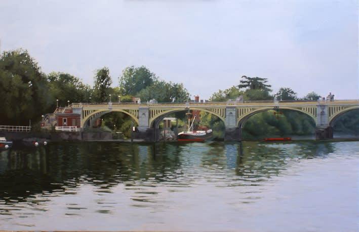 Francisco Rangel Chiswick Oil on Linen 81 x 54 cm