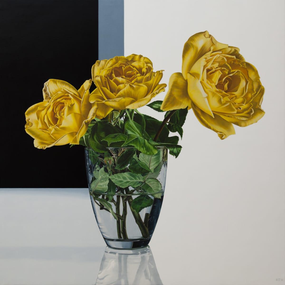 Elena Molinari Friends Oil on canvas 120 x 120 cm