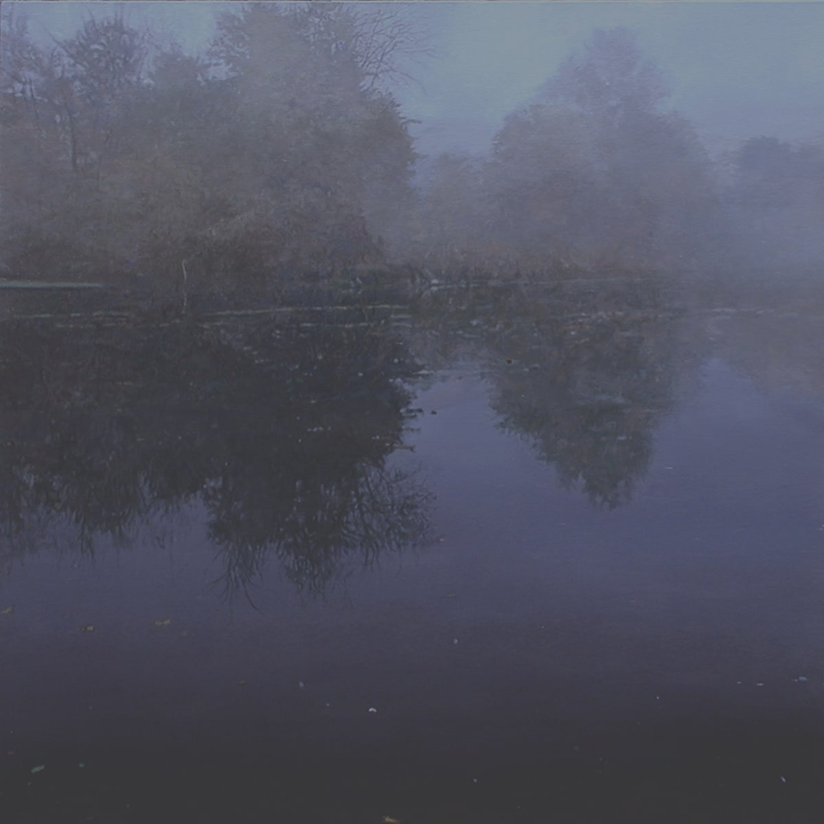 James Van Patten Dawn Fog Acrylic on linen 122 x 122 cm