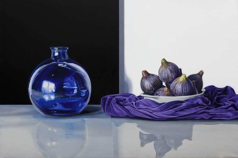 Elena Molinari Eight Figs Oil on canvas 97 x 146 cm