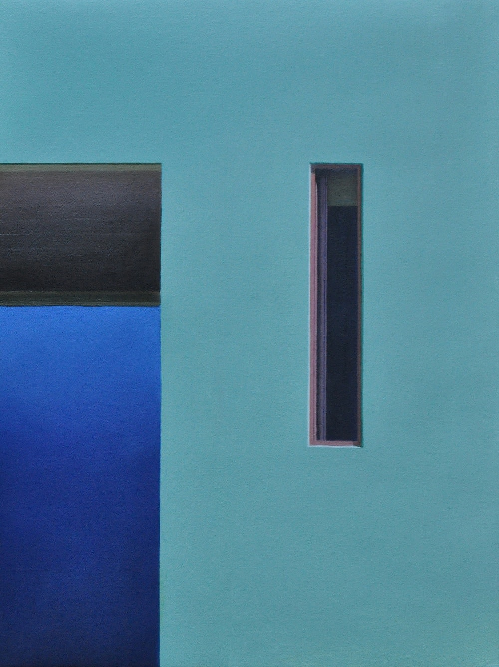 Carl Laubin Gratte-Ciel Window, 2014 Oil on canvas 41 x 30 cm