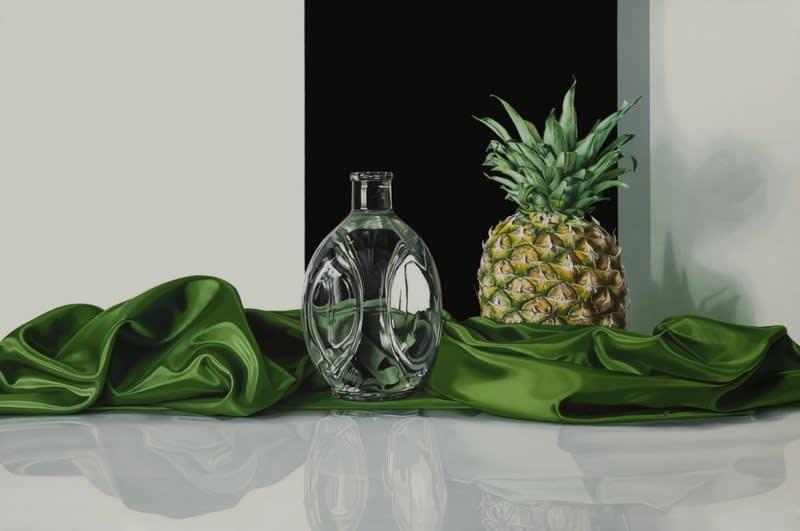Elena Molinari Pineapple Oil on canvas 97 x 146 cm