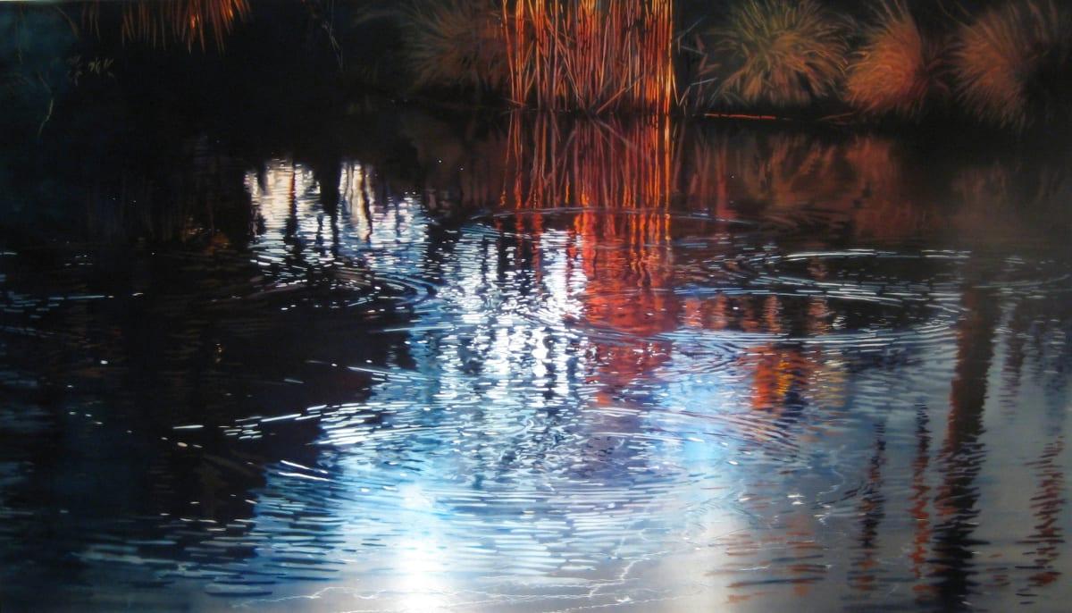 David Kessler Evening Balance Acrylic on panel 122 x 213.5 cm