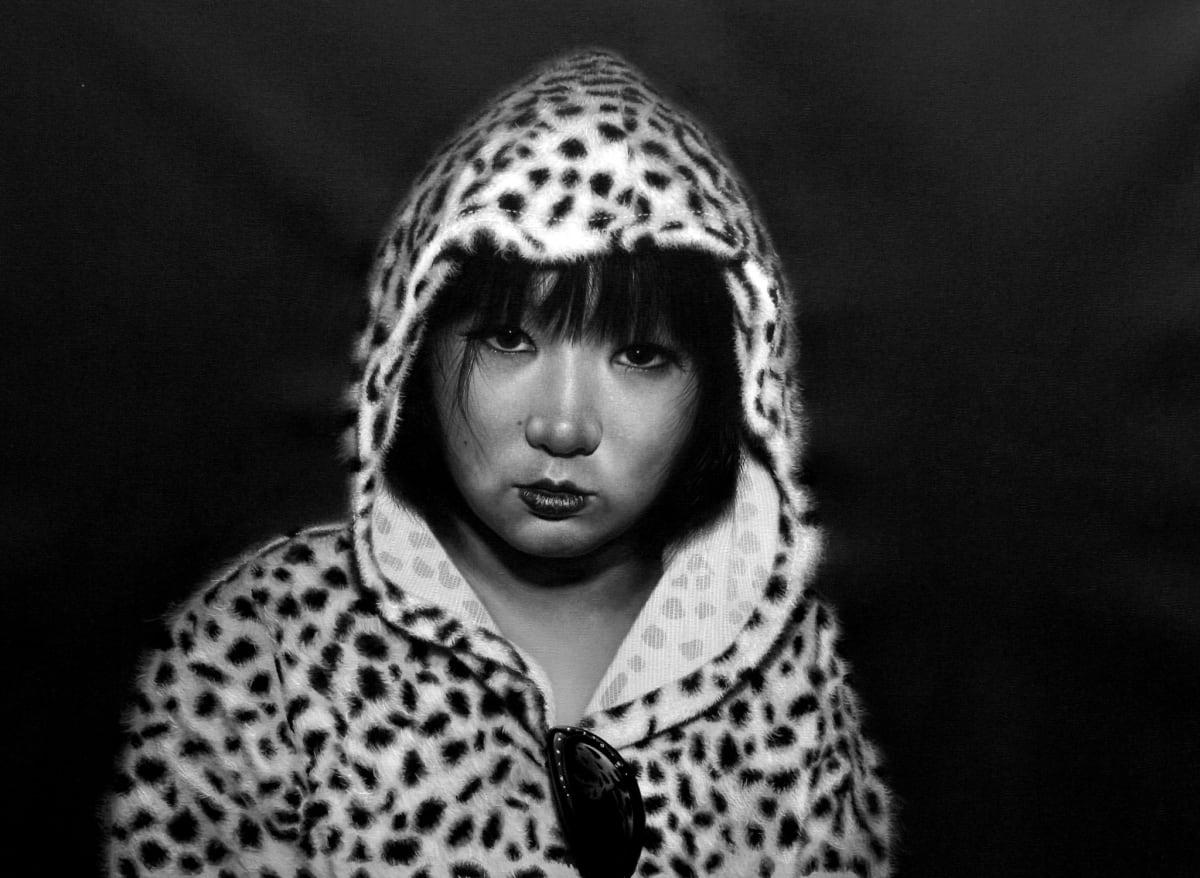 Andrew Tift Harajuku Punk Acrylic on canvas 41 x 54 cm