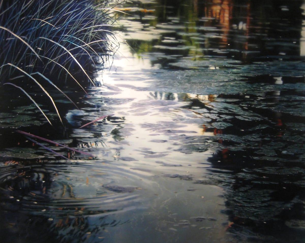 David Kessler Grayed Twilight Acrylic on abraded aluminium on wood 122 x 152.5 cm