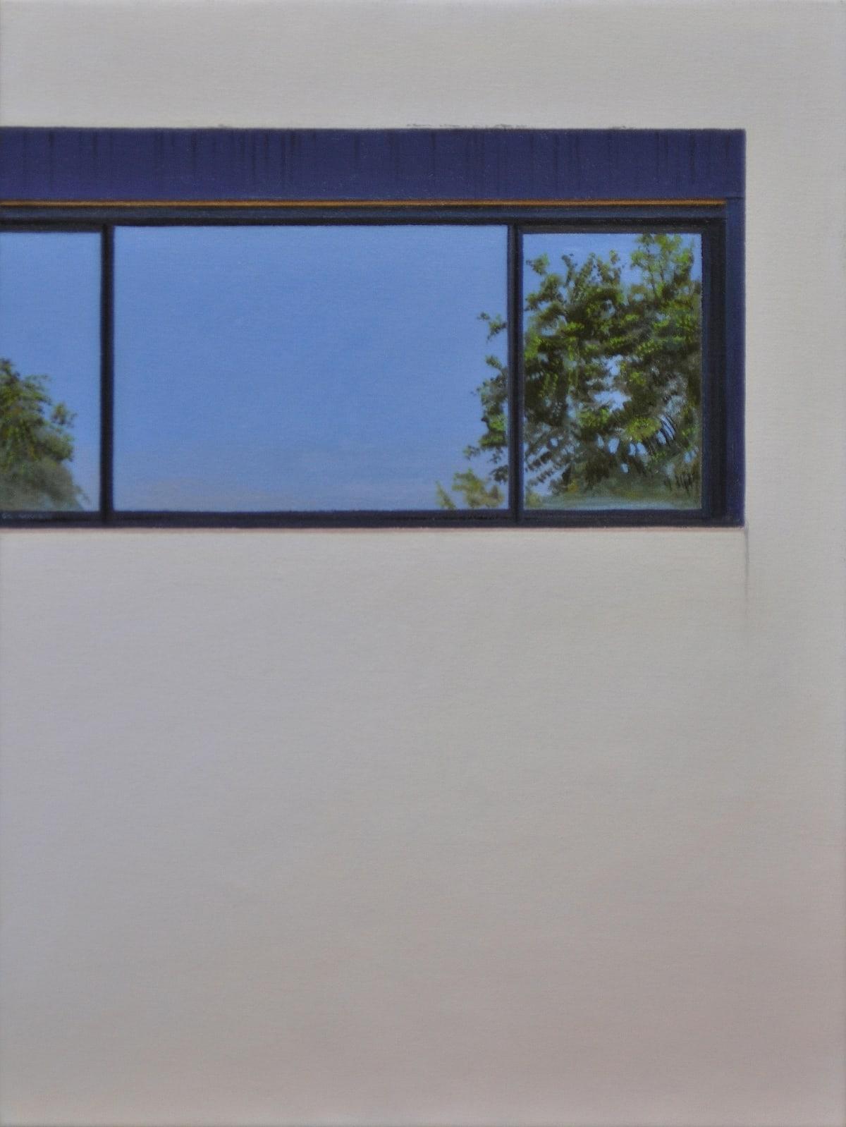 Carl Laubin Fenetre en Longueur, 2015 Oil on canvas 41 x 30 cm