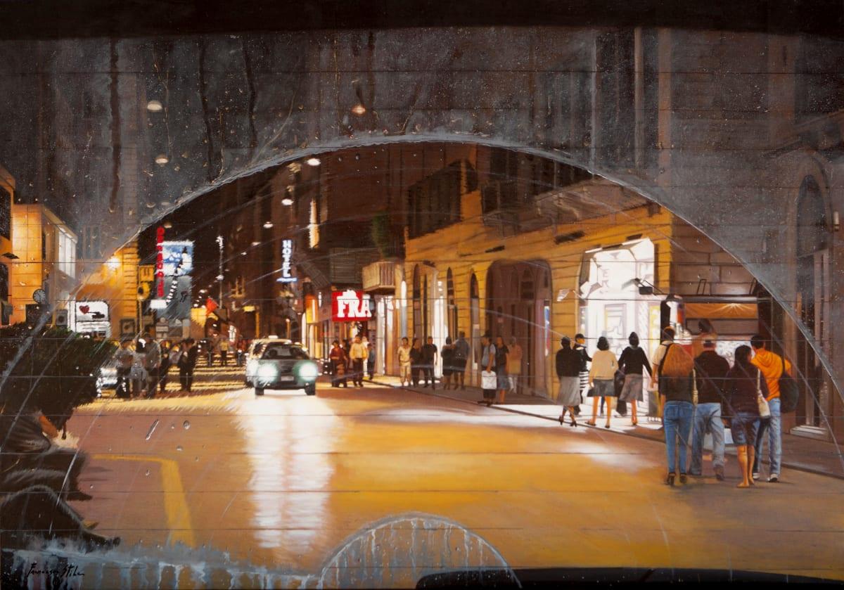 Francesco Stile L'Indiferenza Oil on canvas 70 x 100 cm