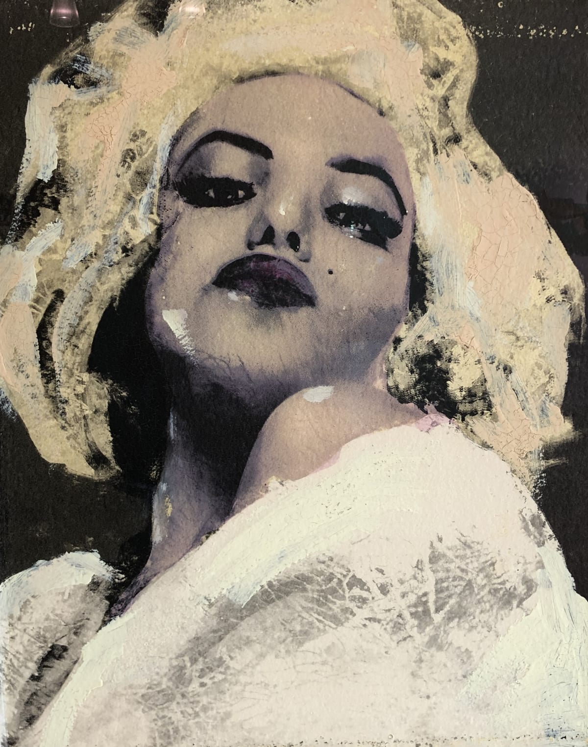 Lita Cabellut, Marilyn Monroe - III