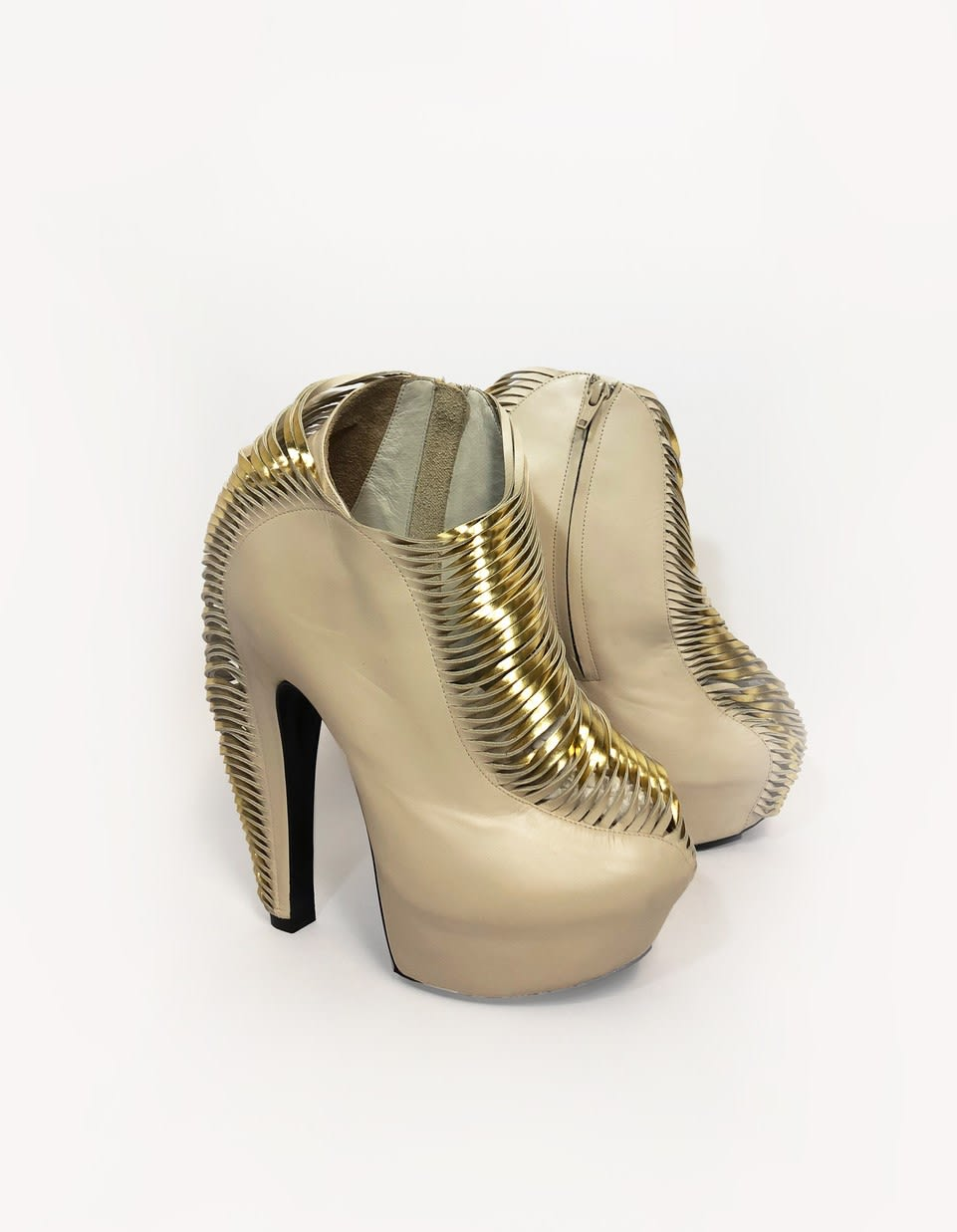 Iris van Herpen, Synesthesia Shoes, 2013