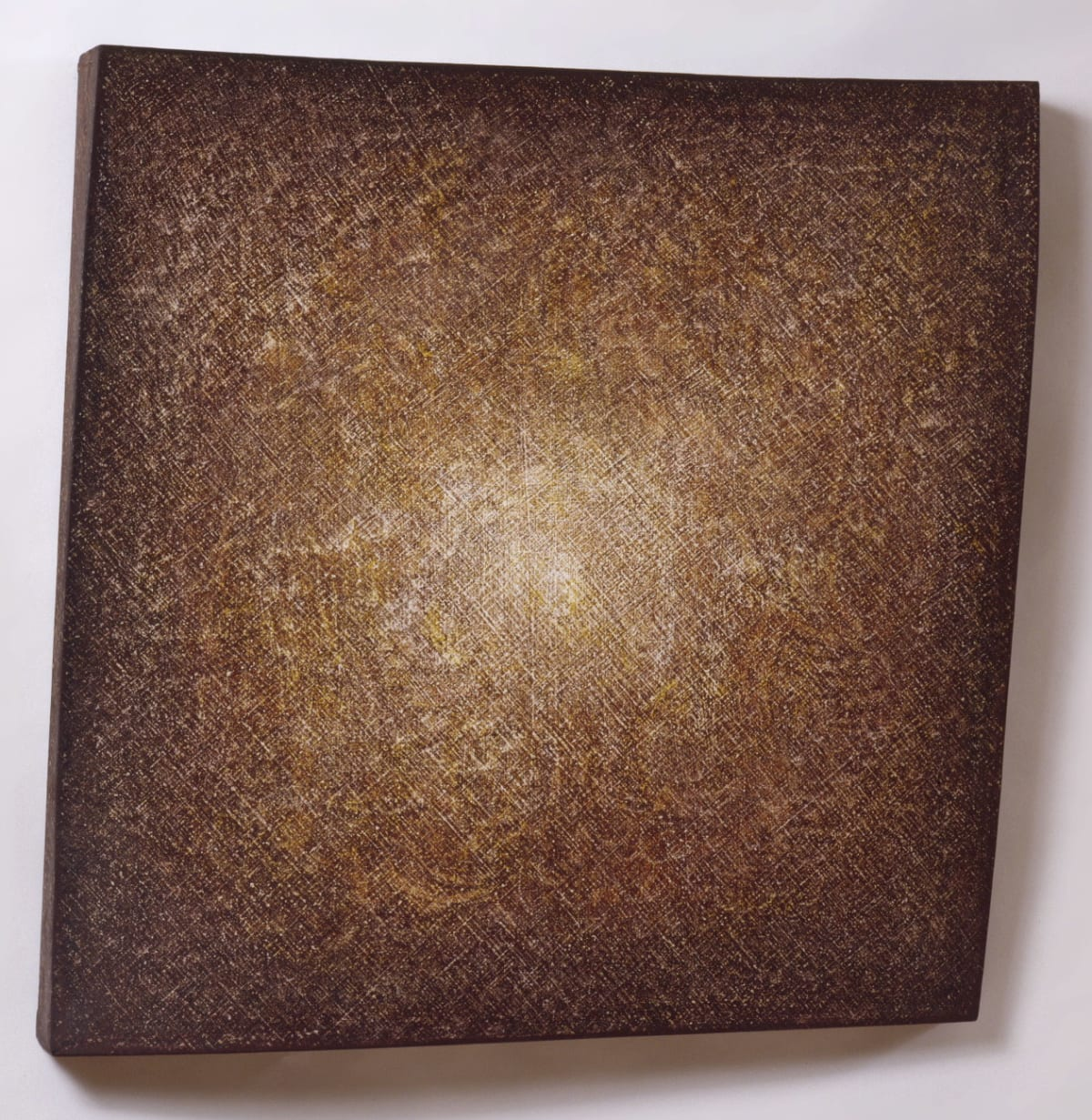 Beppe Kessler, Brown sanded canvas