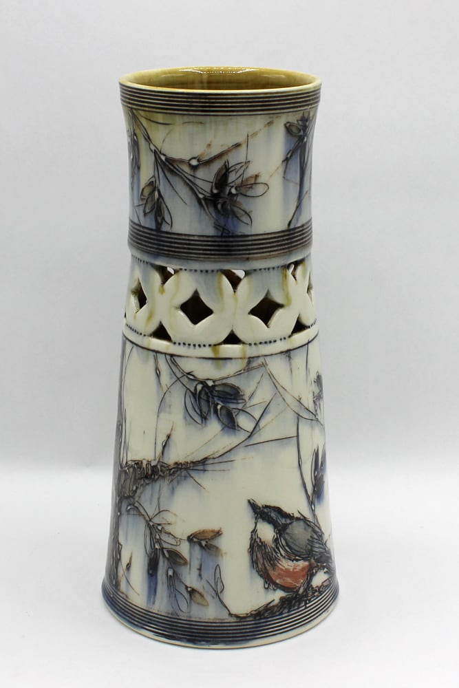 Dawn Candy, Nuthatch Vase, 2020