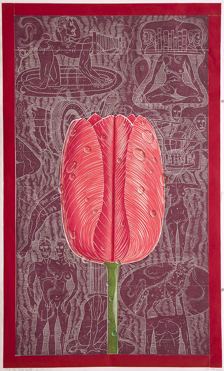 John Buck, Tulip for Patti Smith, 2012