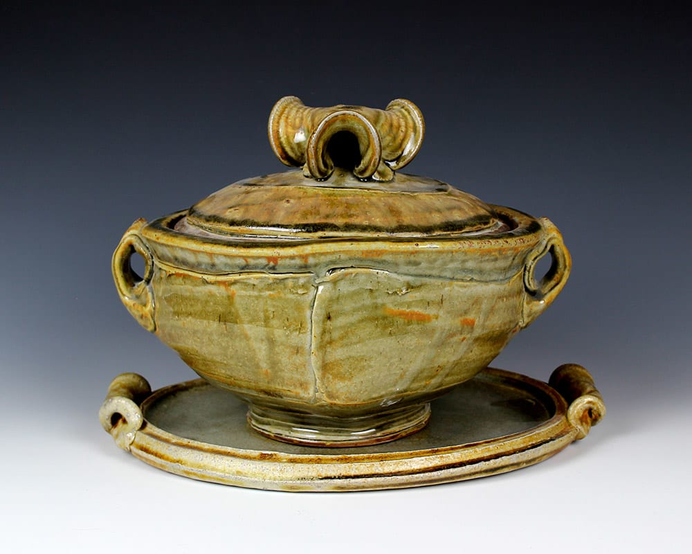 Josh DeWeese, Tureen with Tray, 2019
