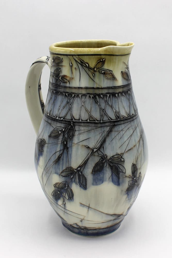 Dawn Candy, Onyx Ash Pitcher, 2020