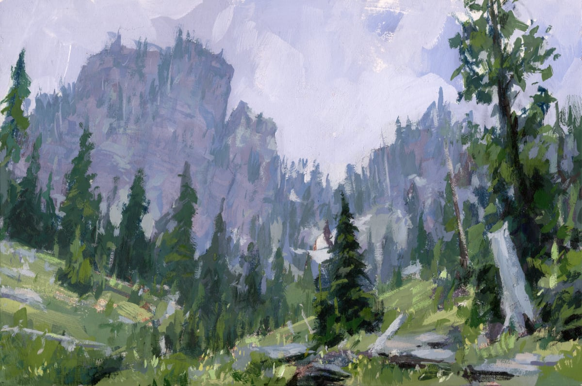 Jared Shear, Terrace Lake Crags, 2019