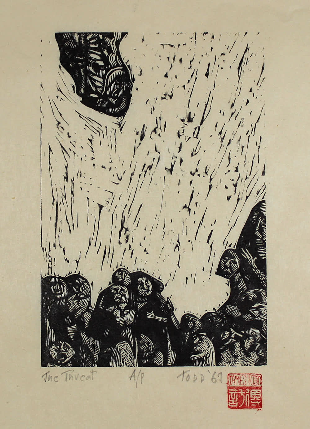 James G. Todd, The Threat, 1966