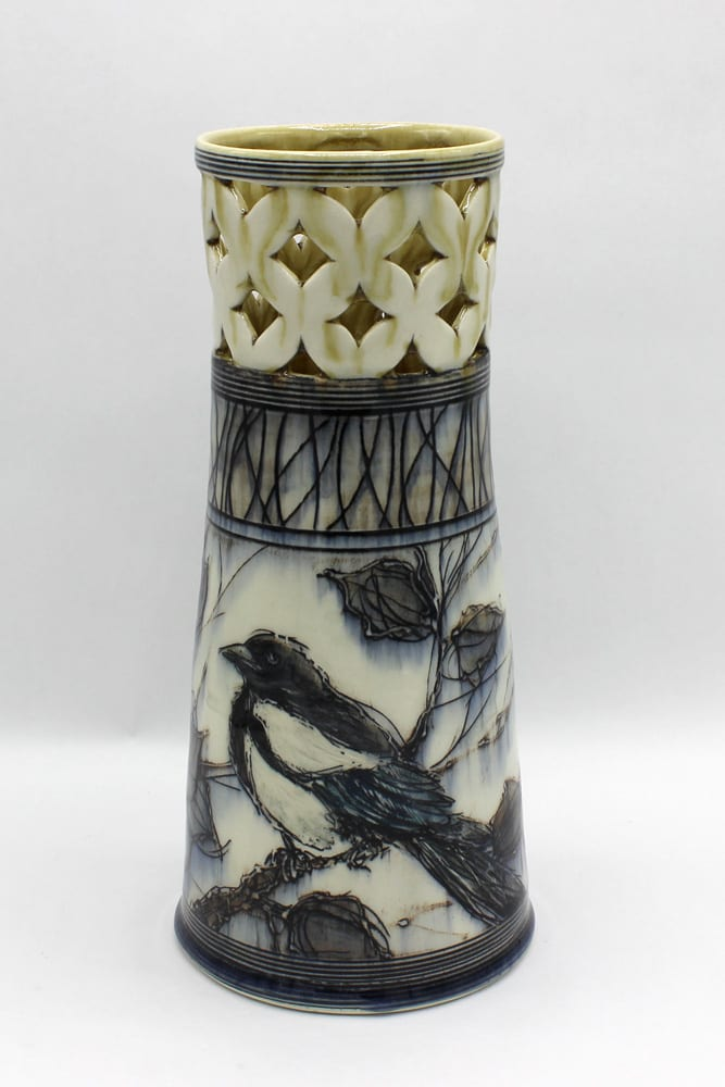 Dawn Candy, Magpie Vase, 2020