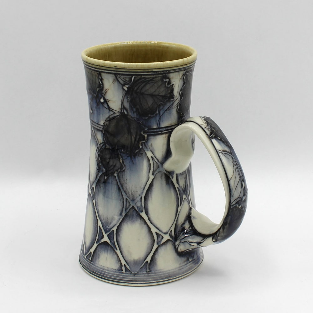Dawn Candy, Onyx Leaf and Pattern Mug, 2020