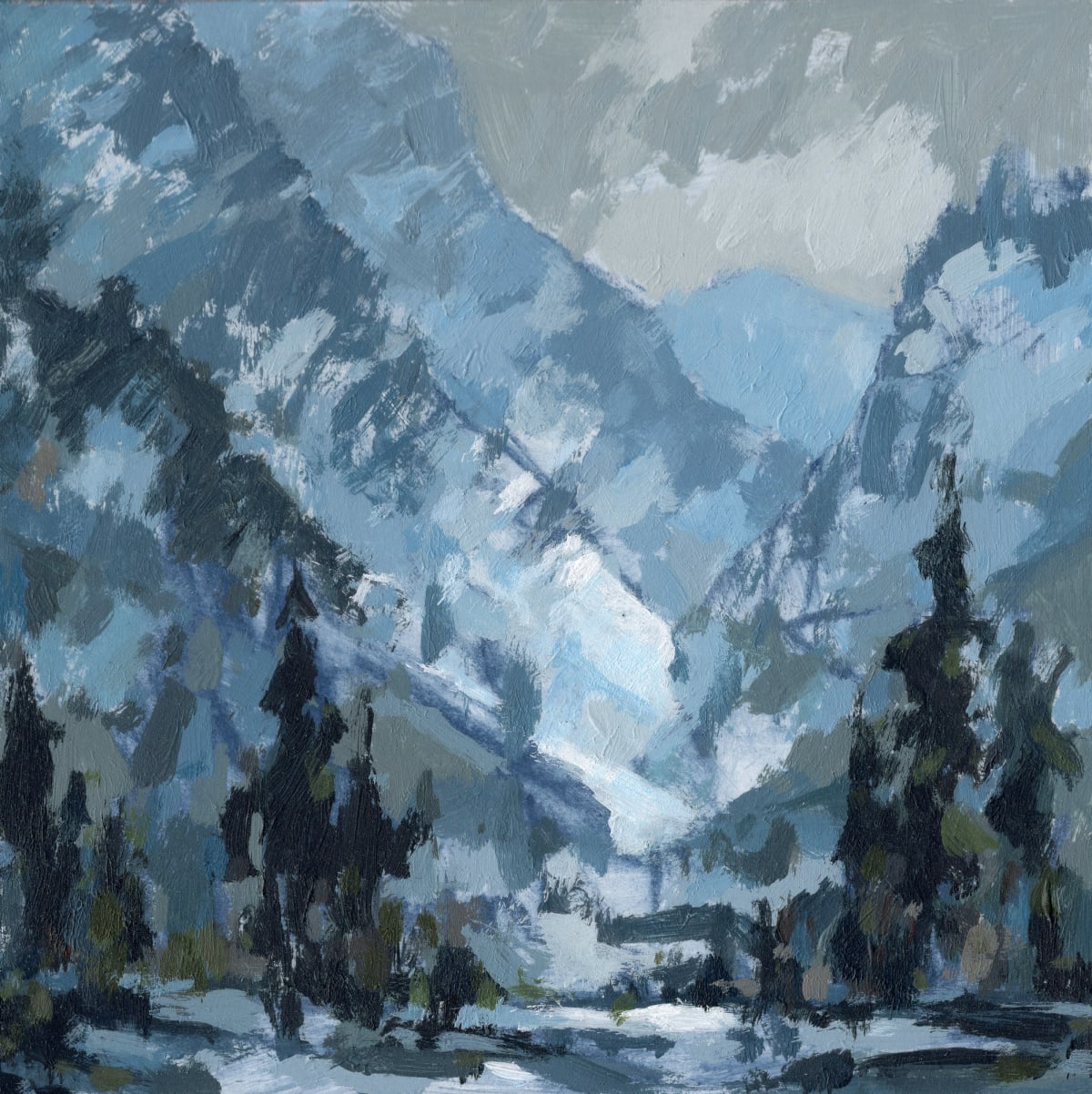 Jared Shear, Icy Canyon, 2019