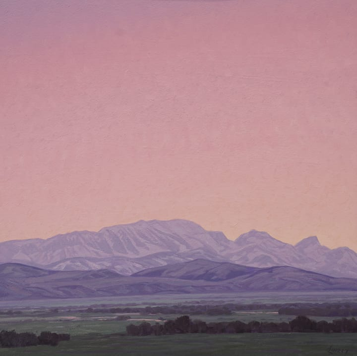 Dale Livezey, Spring - Rocky Mountain Front