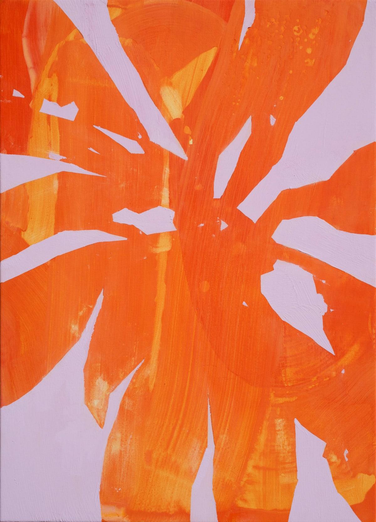Davide Zappia Arancio, 2019 Acrylic on Canvas 50 x 70 cm 19 3/4 x 27 1/2 in