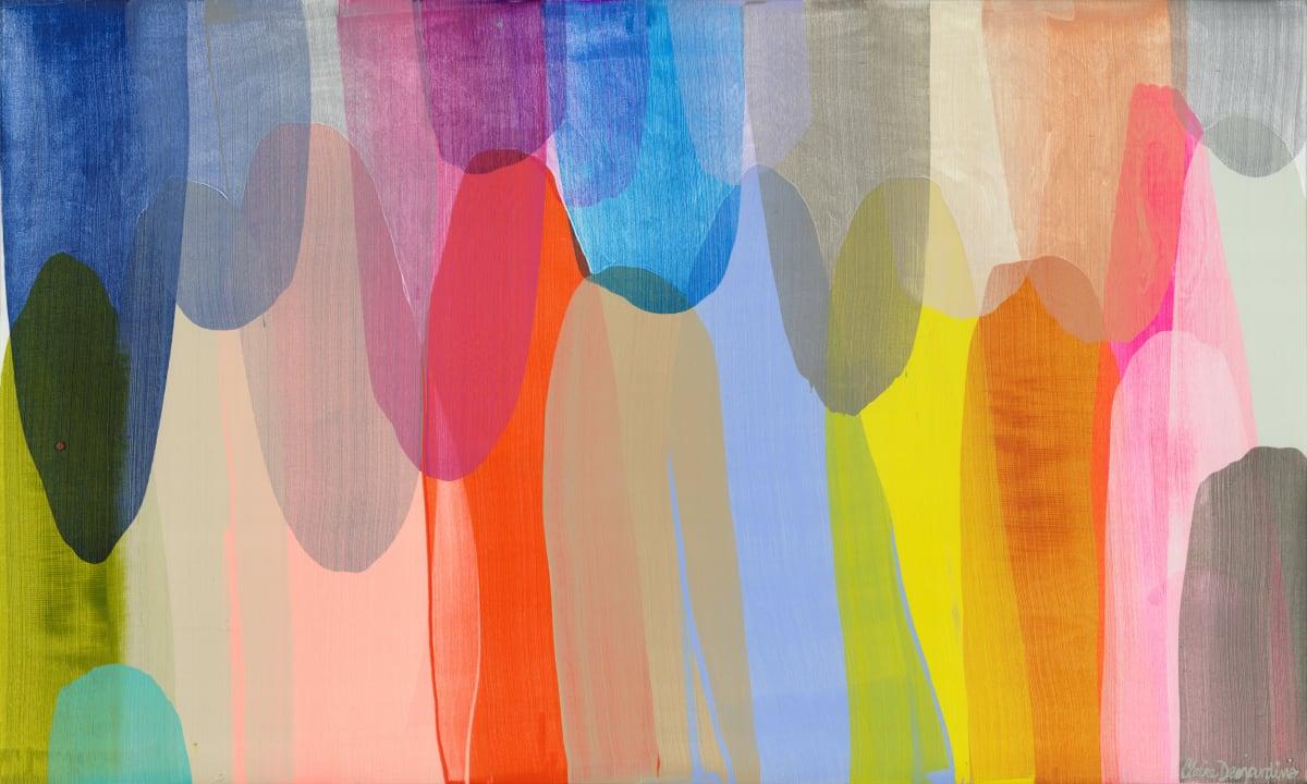 Claire Desjardins Already Friends , 2020 Acrylic on Canvas 91.4 x 152.4 cm 36 x 60 in