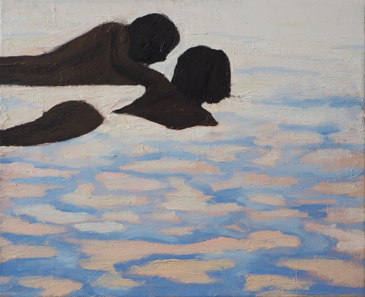Julita Malinowska Children in water , 2006 Oil on Canvas 22 x 27 cm 8 5/8 x 10 5/8 in