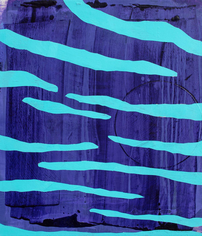 Davide Zappia Vanno Vengono , 2019 Acrylic on Canvas 60 x 70 cm 23 5/8 x 27 1/2 in