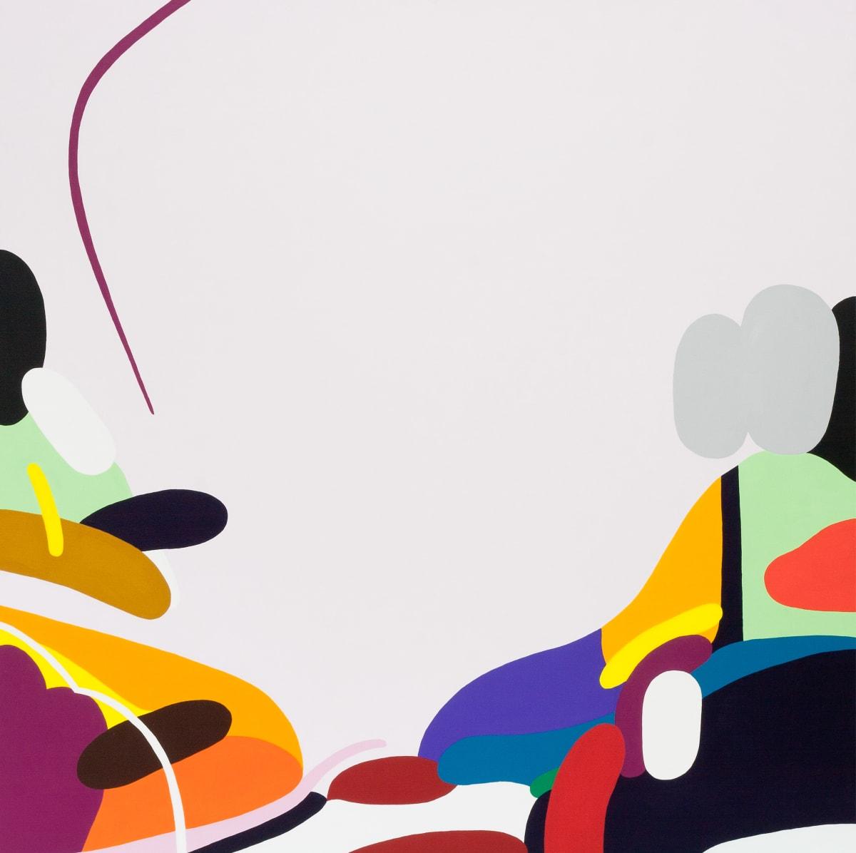 Kotaro Machiyama Find , 2016 Acrylic on Canvas 80.5 x 80.5 x 2.5 cm 31 3/4 x 31 3/4 x 1 in