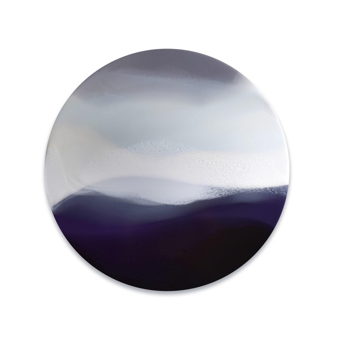 Marina Savashynskaya Dunbar Landless III, 2019 Mixed Media on Panel 61 cm diameter 24 in diameter