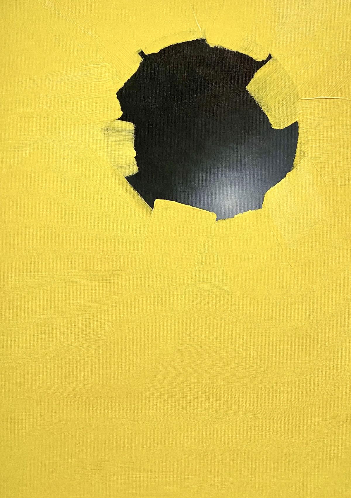 Petra von Kazinyan Atom I , 2020 Acrylic on Canvas 70 x 50 cm 27 1/2 x 19 3/4 in