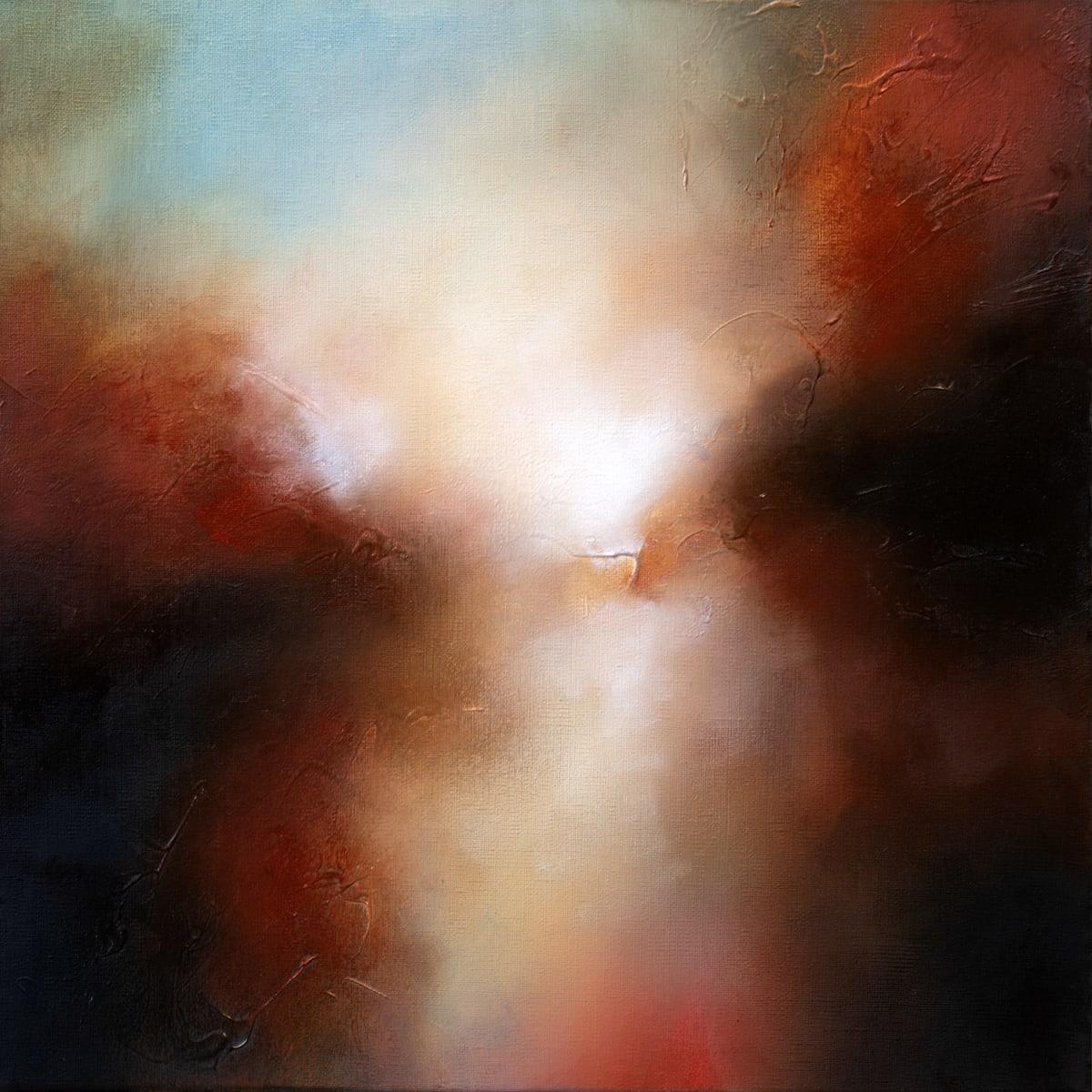 Paul Bennett State of Light 2 , 2019 Oil on Deep Edged Canvas 40 x 40 cm 15 3/4 x 15 3/4 in