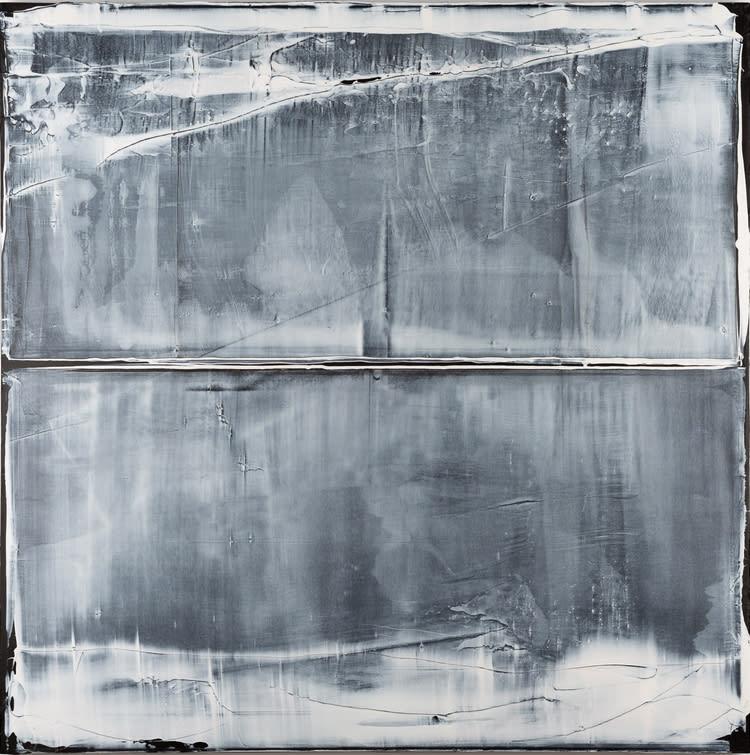 Alex Kuznetsov Untitled 'Numer 1, 2019 Acrylic on Canvas 120 x 120 x 5 cm 47 1/4 x 47 1/4 x 2 in