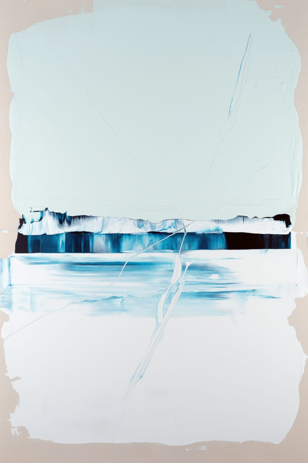Alex Kuznetsov Horizons #3, 2019 Acrylic on Canvas 150 x 100 x 3 cm 59 1/8 x 39 3/8 x 1 1/8 in