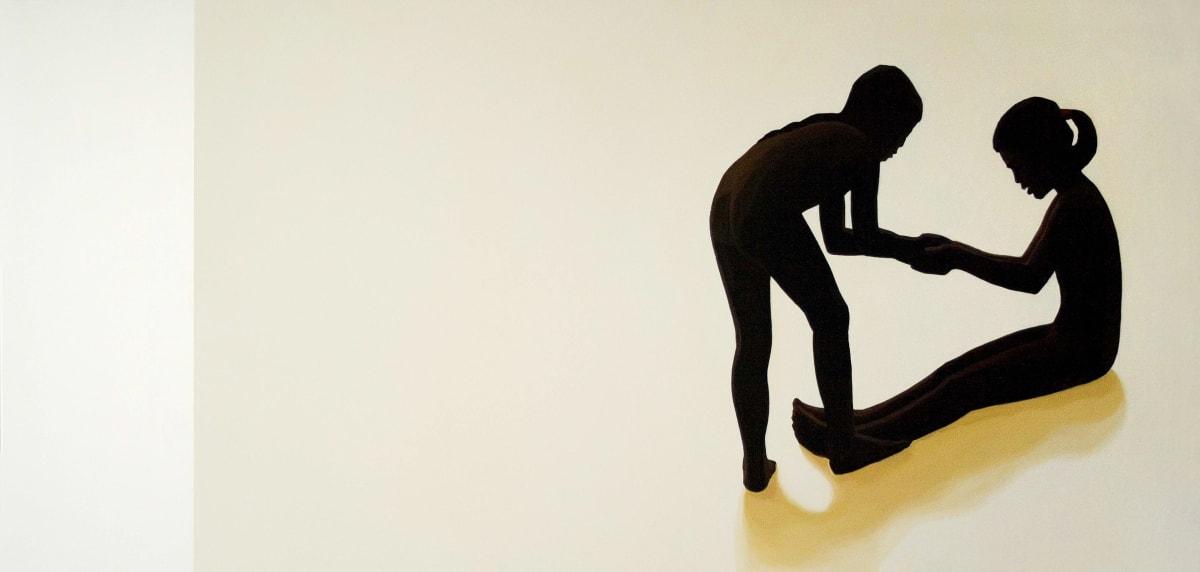 Julita Malinowska Gestures V , 2008 Oil on Canvas 70 x 150 cm 27 1/2 x 59 1/8 in