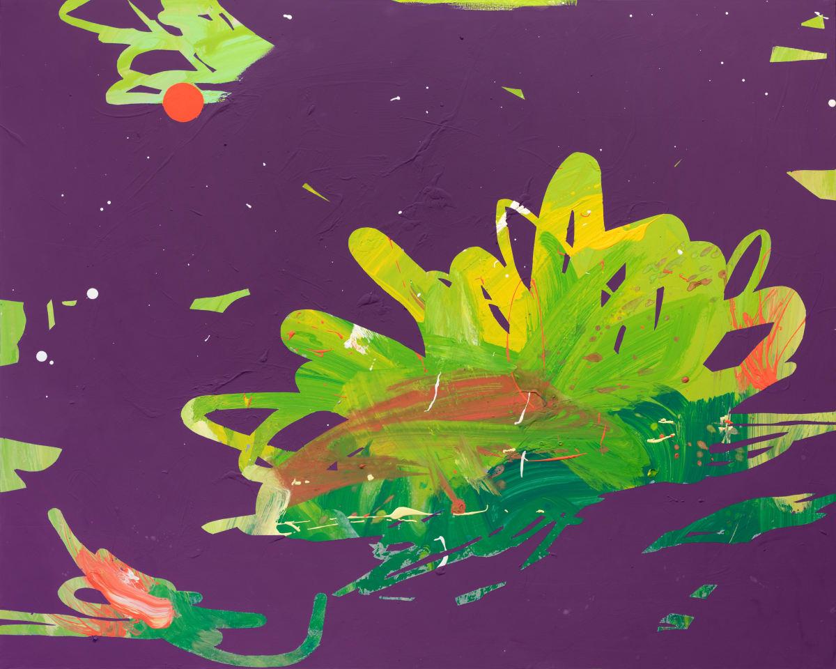 Davide Zappia Quando da piccolo guardavo lo stagno , 2020 Acrylic on Canvas 100 x 80 cm 39 3/8 x 31 1/2 in