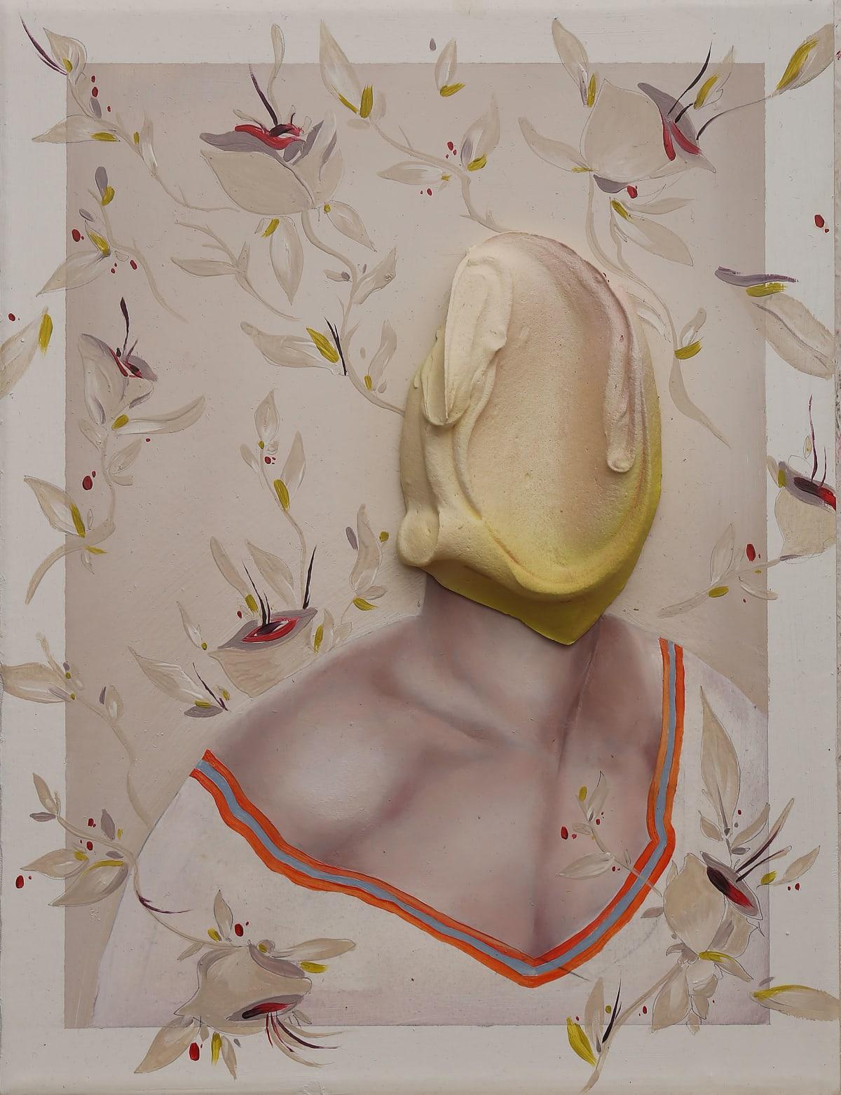 Fabio La Fauci Untitled 2, 2019 Oil, Acrylic Paste on Canvas 30 x 40 cm 11 3/4 x 15 3/4 in
