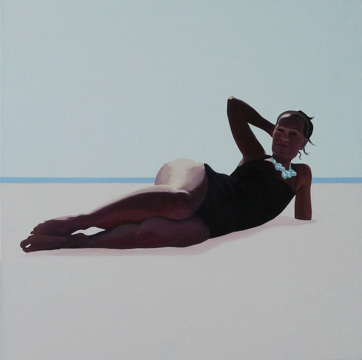 Julita Malinowska Venus I , 2011 Oil on Canvas 50 x 50 cm 19 3/4 x 19 3/4 in