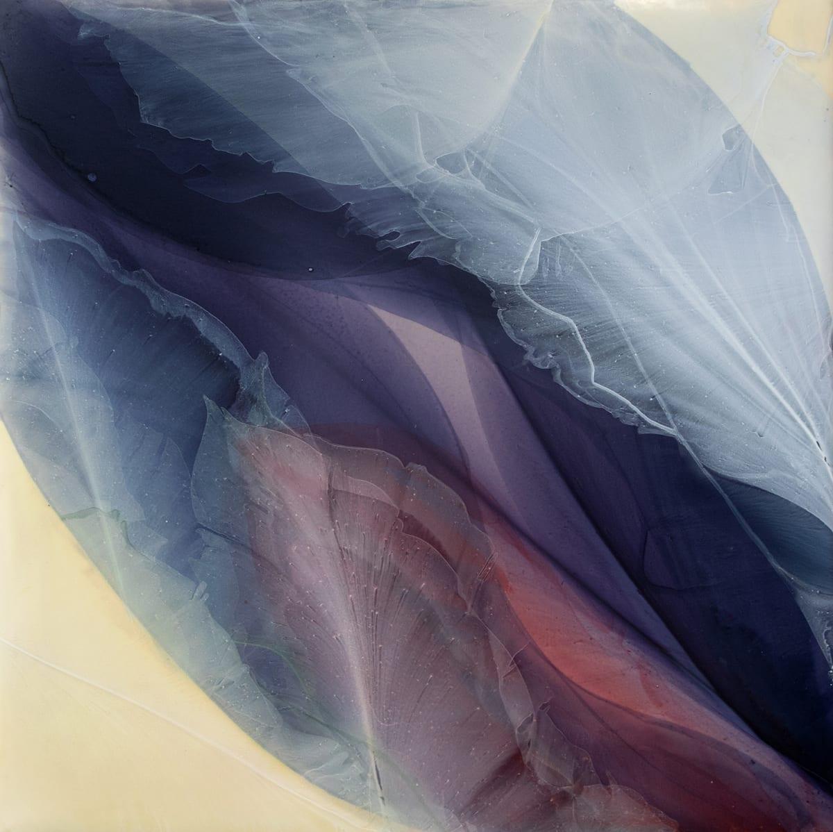 Marina Savashynskaya Dunbar Bloom , 2020 Water Media on Canvas, Framed 76.2 x 76.2 cm 30 x 30 in