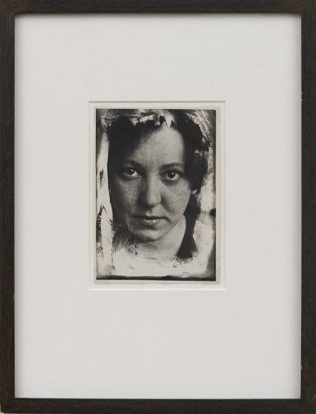 Alexander RODCHENKO 'Stepanova' ('first photograph'), 1923-24 Black and white photograph, vintage 18 x 13 cm
