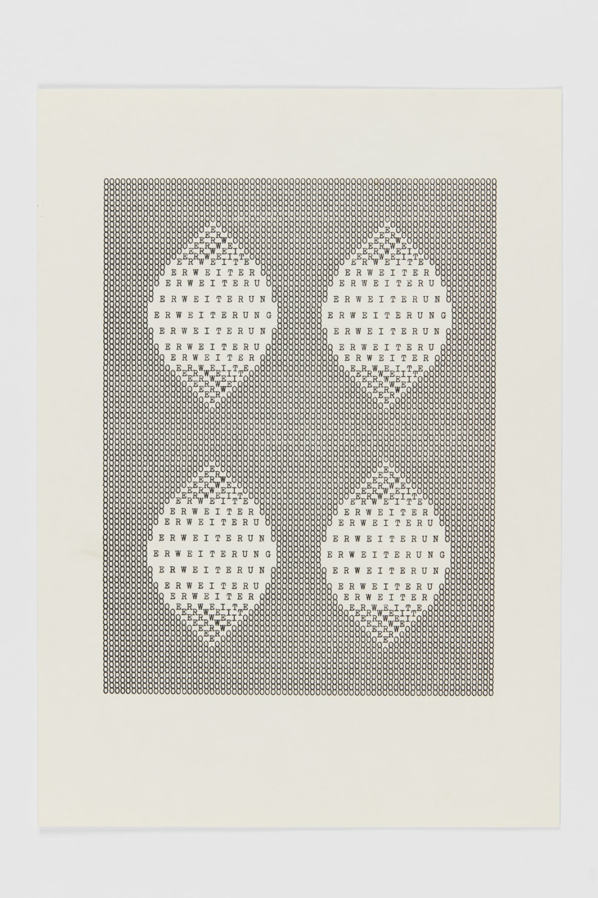 Ruth WOLF-REHFELDT Erweiterung, c.1980 print (zinc lithograph) 29.9 x 21.1 cm